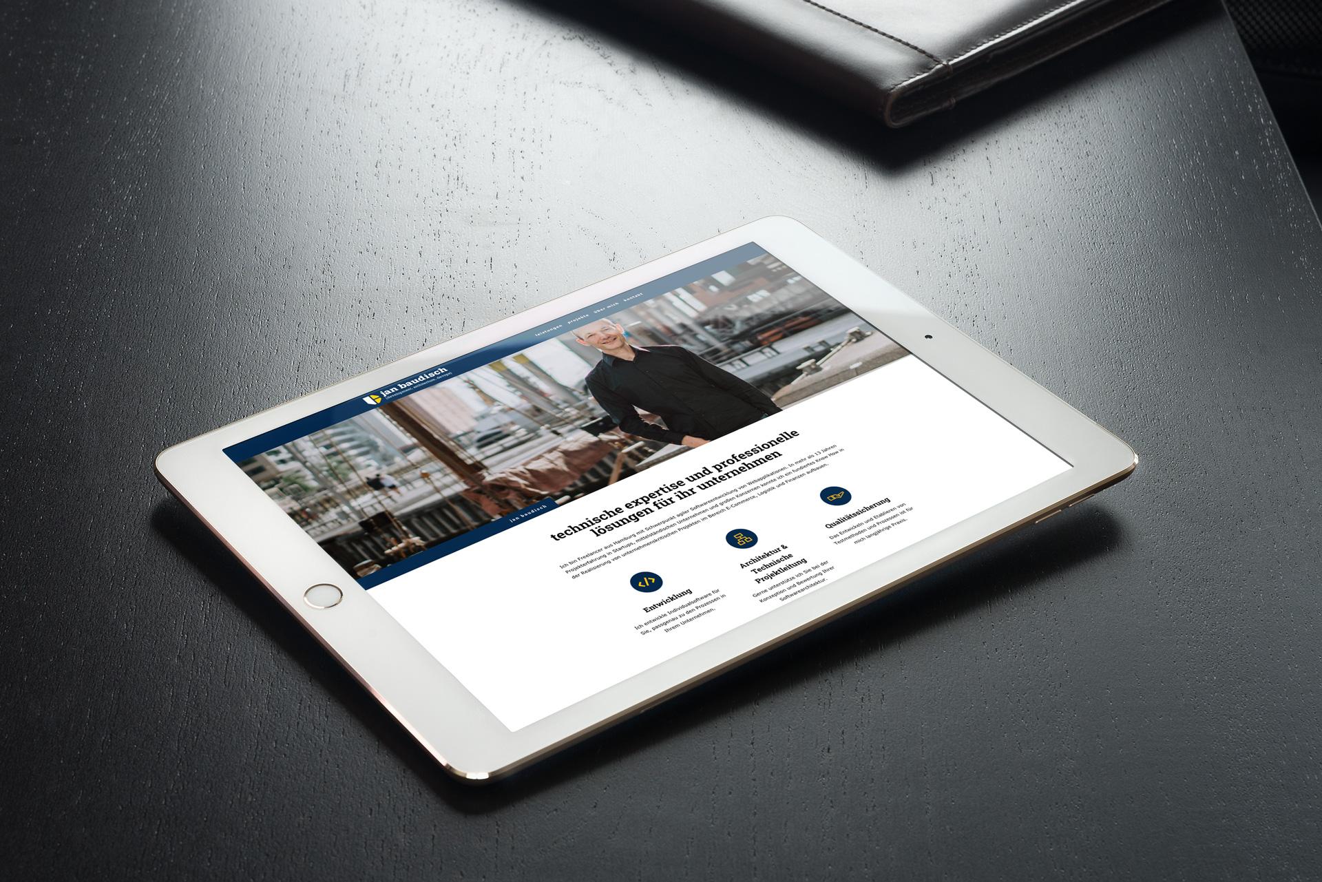 Jan Baudisch Webdesign