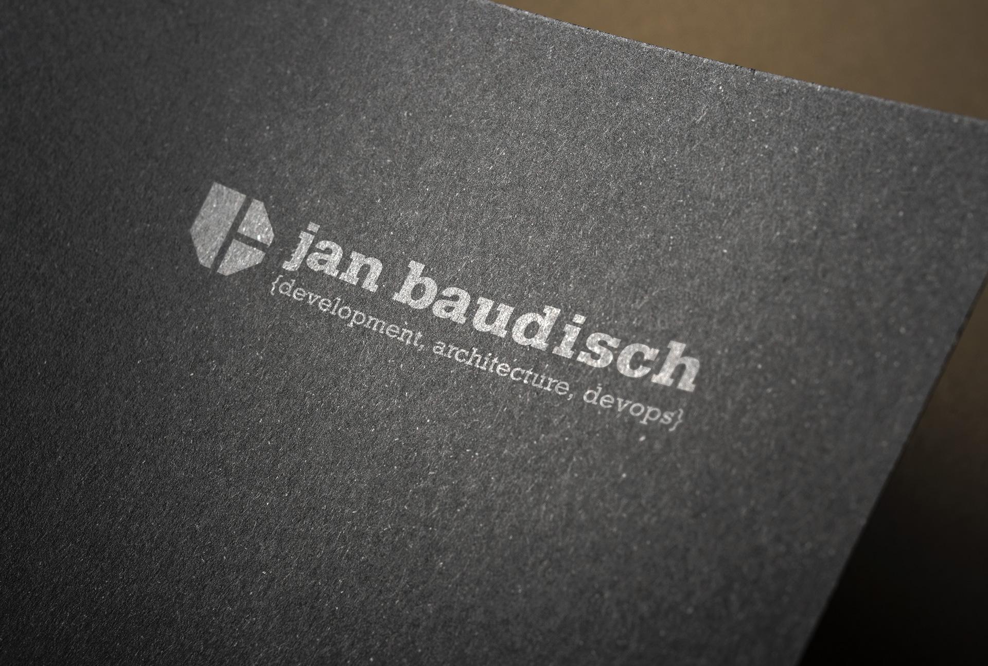 Jan Baudisch Logodesign