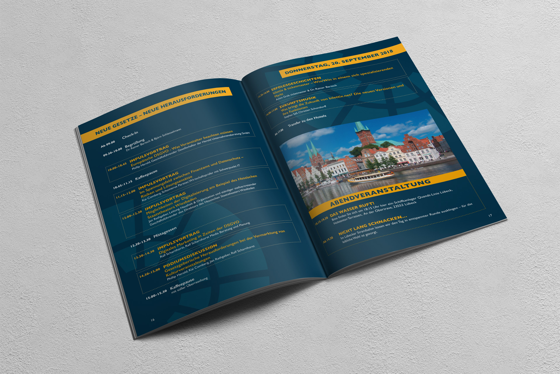 bilettix Broschüre Design
