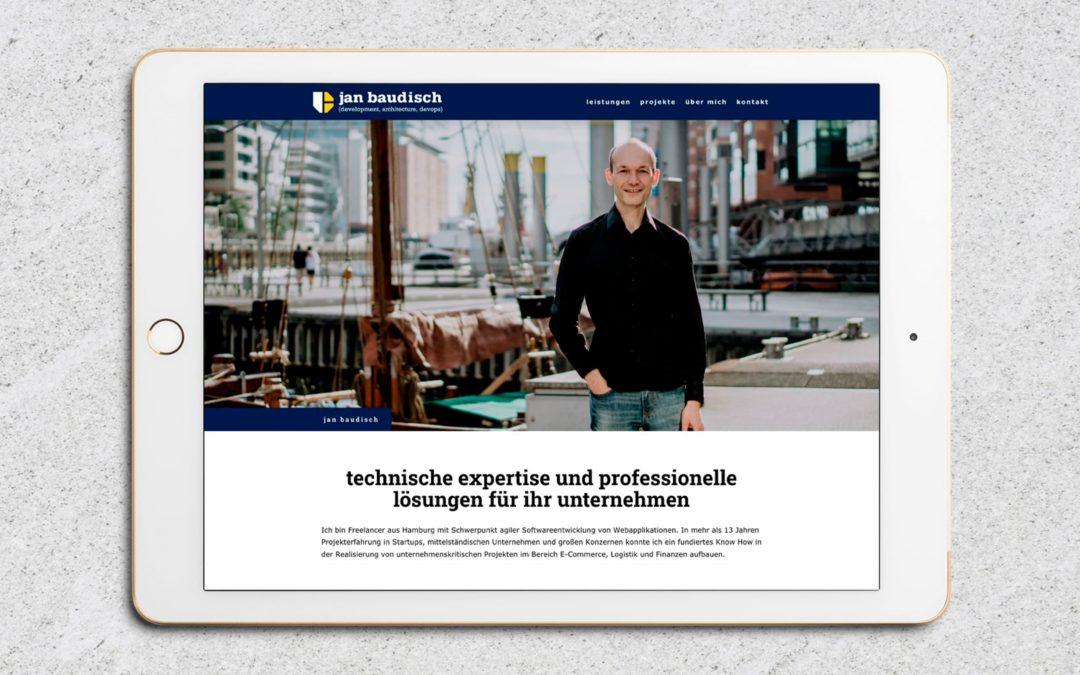 Webdesign Jan Baudisch